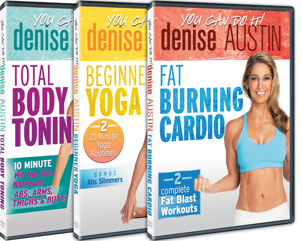Denise Austin 3 DVD Set