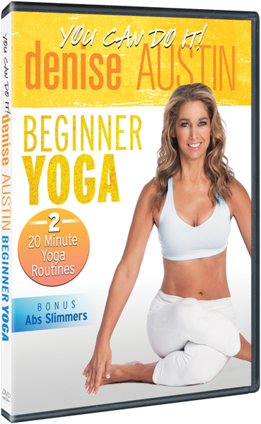 Denise Austin Beginner Yoga DVD