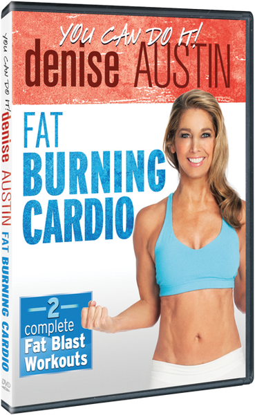 Denise Austin Fat Burning Cardio DVD