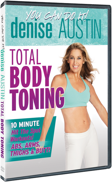 Denise Austin Total Body Toning DVD
