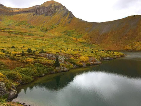 Fall fly fishing in the high country