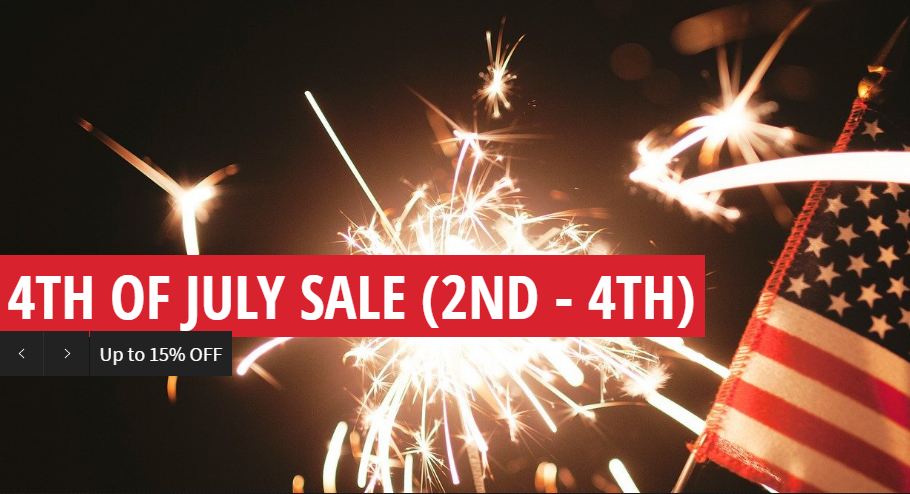 4th of July Celebration Sale