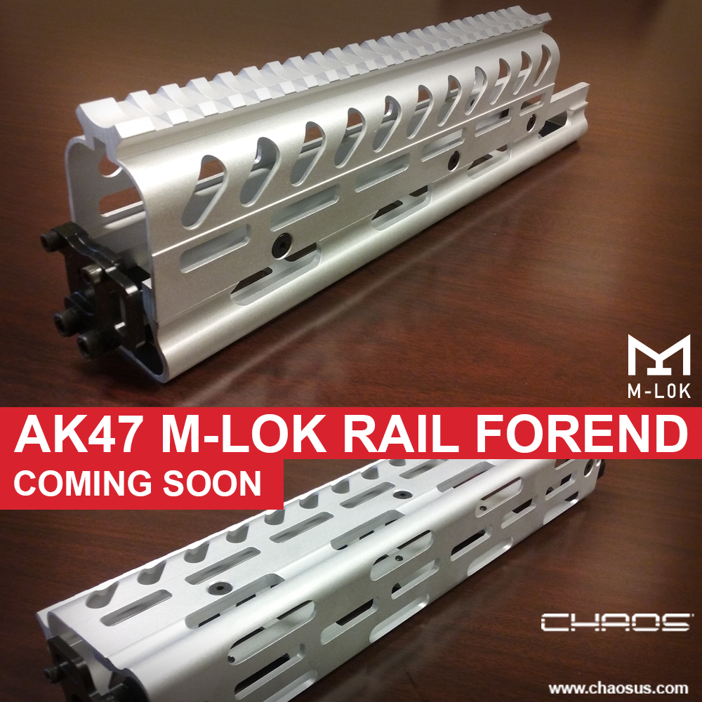 NEW AK 11380 Apollo M-LOK Rail for AK47's
