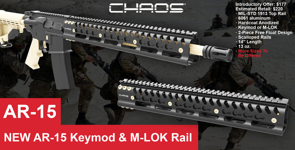Chaos Inc. is moving into the AR-15 Platform