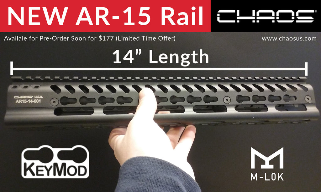 It's Done! AR-15 KEYMOD RAIL (Pre-Order Coming Soon)