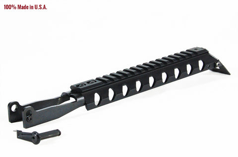 AK47 DUST COVER RAIL (FOR MILLED RECEIVERS) - Picatinny Rails - Chaos Inc - 1