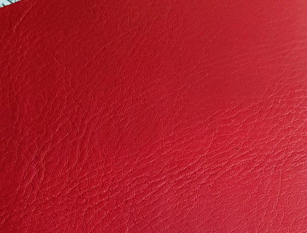 Red leather colour option for Music Journal by Bespoke Bindery