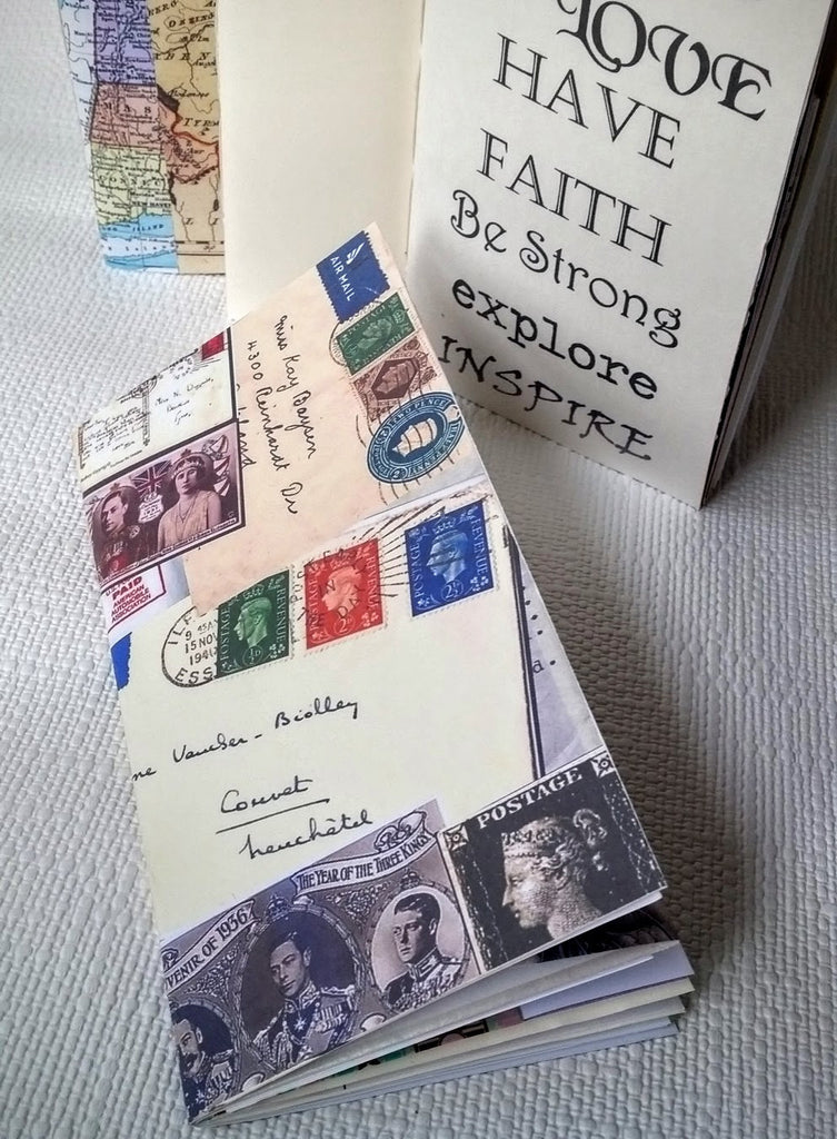 Junk Journal Travelers Notebook, Junk Journal Moleskine Cahier, Field Notes Junk Journal