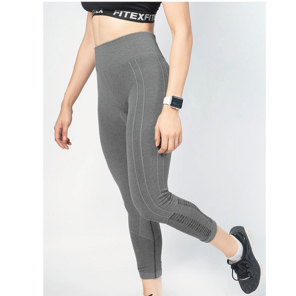 Leggings Fitex Compress Seamless Gris