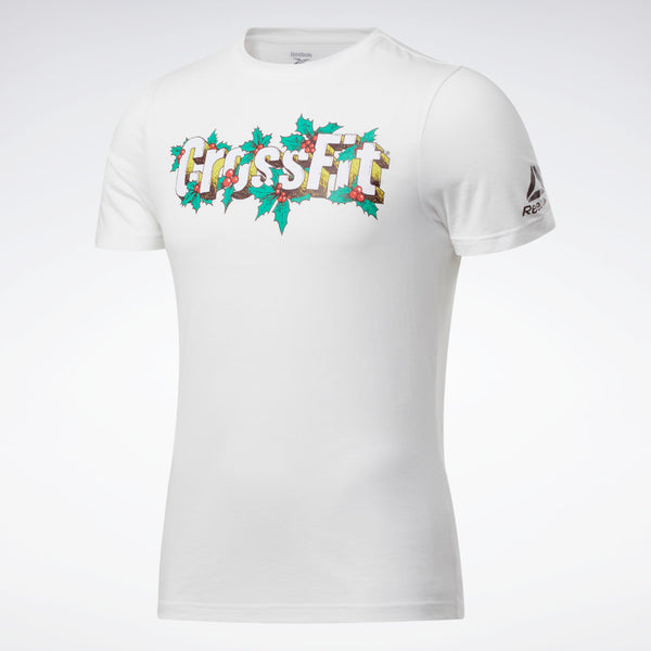 Playera Reebok Holiday Tee Blanca