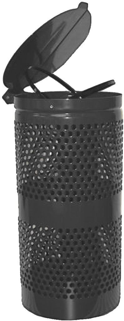DOGIPOT® Aluminum Trash Receptacle with Lid