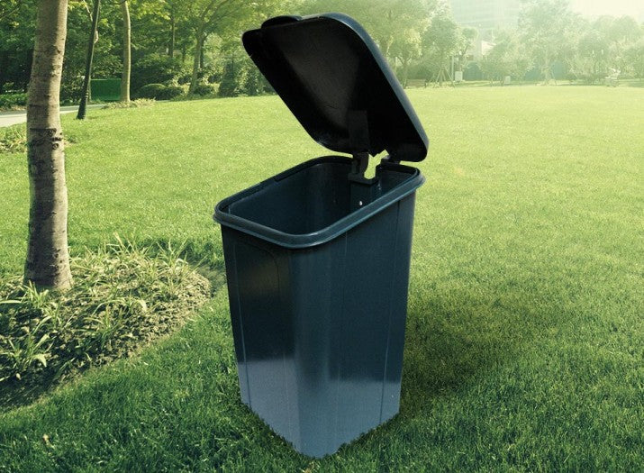 Poly Trash Receptacle Replacement Lid/Frame