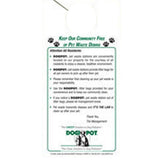 Informational Door Hangers - residents need to be reminded to pick up after their dogs