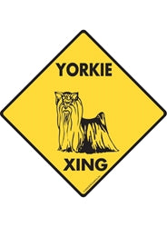 Yorkie (Yorkshire Terrier) Xing Signs
