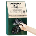 Junior pet waste pick up bag dispenser 1002-2
