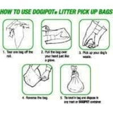 How to use DOGIPOT Litter Dog Poop Pick Up Bags