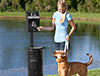 Aluminum Pet Waste Station