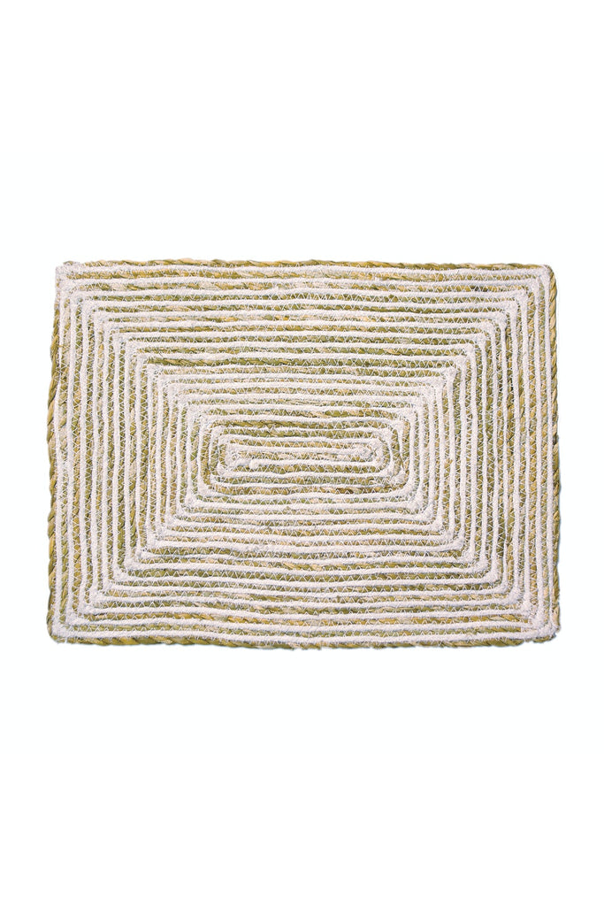Rectangle Jute/Cotton Placemats