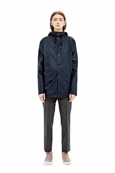 RAINS Jacket - Navy