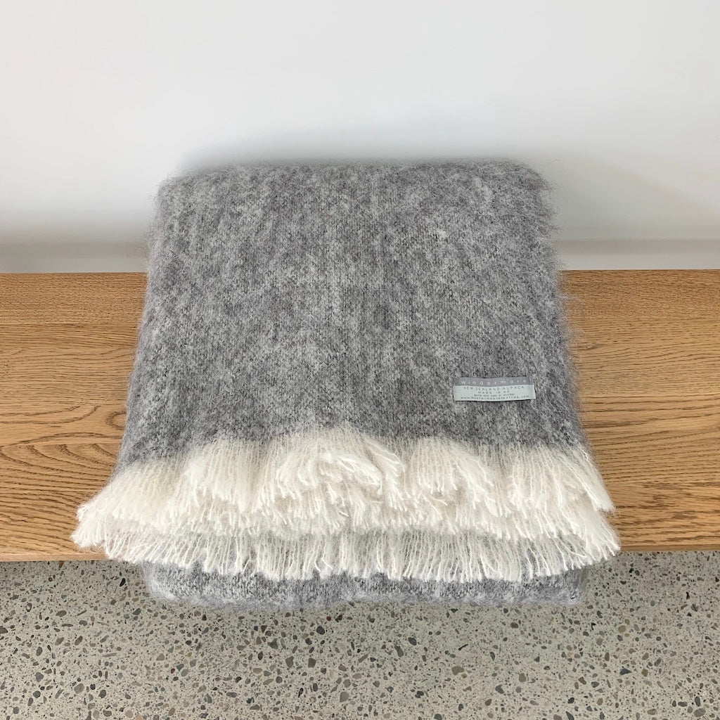 Pure Alpaca Throw