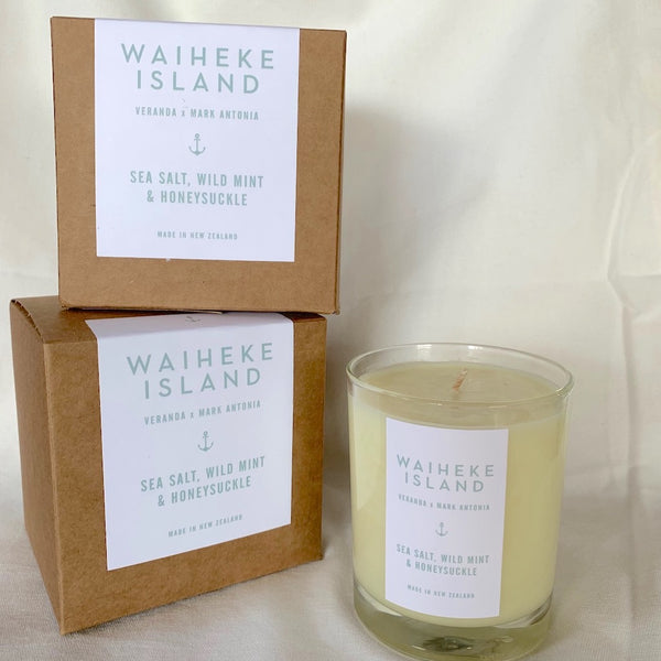 Waiheke Island x Mark Antonia Scented Candle