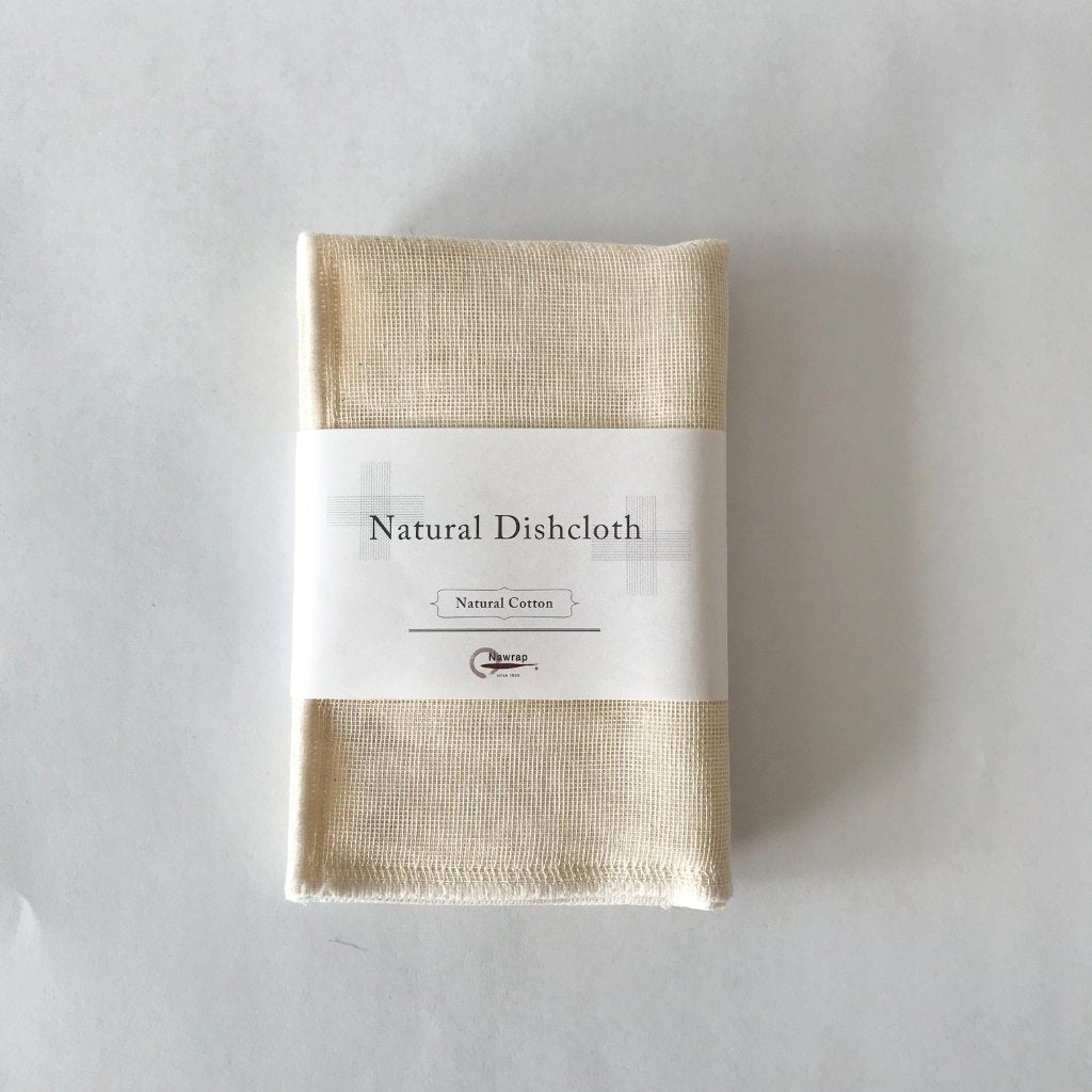 Natural Dishcloth by Nawrap