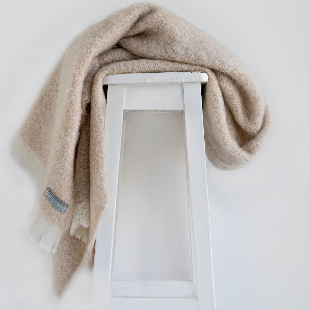 Pure Mohair Throw  |  Toi Toi
