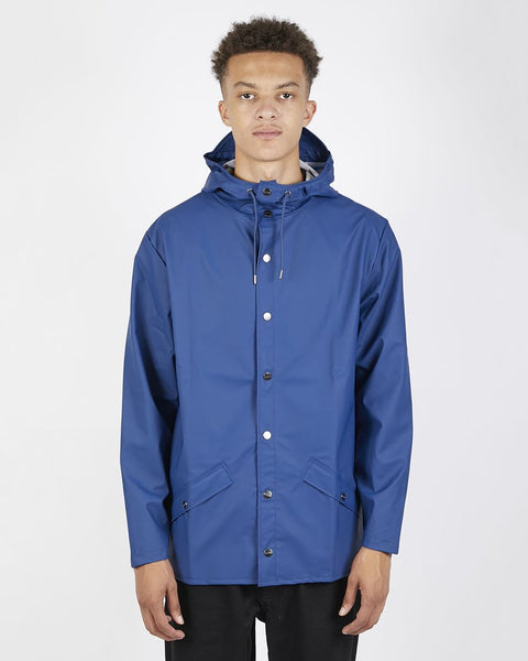 RAINS Jacket - Klein Blue