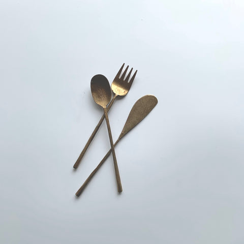 Brass Tapas Spreader