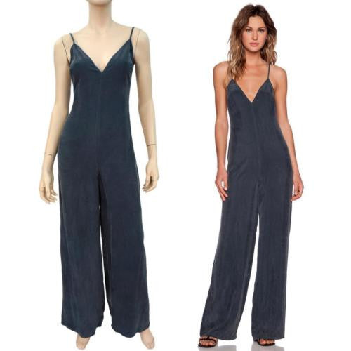 NBD 'Over It' Backless Jumpsuit w/ Tags, Small