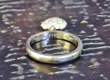 "TIFFANY & CO. Platinum Diamond Heart ""Pinky"" Ring, Sz 4.5"