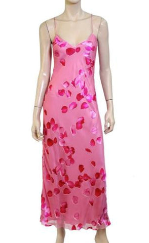 EMANUEL UNGARO Printed Silk Gown, IT 40 / US 4