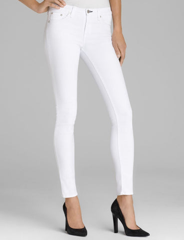 RAG & BONE The Skinny Jeans in Bright White 26
