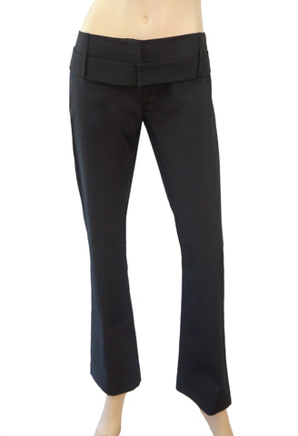 PRADA Belted Cotton-Blend Pants, IT 40 / US 4