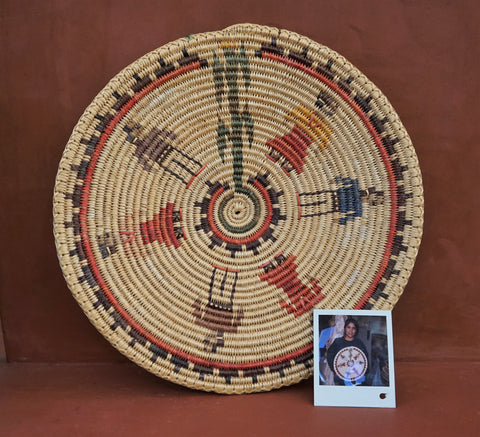 NAVAJO INDIAN Wedding Basket by Alicia Nelson TEEC NOS POS Trading Post