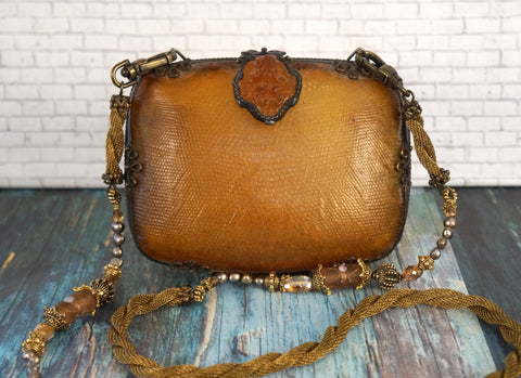 MAYA EVANGELISTA Framed Resin Box Shoulder Bag
