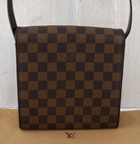 LOUIS VUITTON Damier Ebene TRIBECA MINI Shoulder Bag MINT