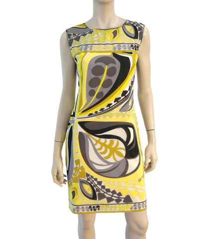 EMILIO PUCCI Stretch Silk Mini-Dress, IT 42 / US 6