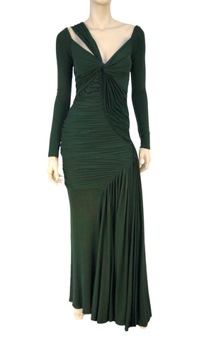 DONNA KARAN COLLECTION Stretch-Jersey Gown, Small