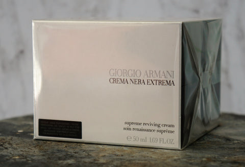 GIORGIO ARMANI Crema Nera Extrema Supreme Reviving Anti Aging Cream 1.7 oz NIB