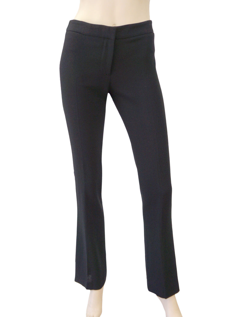 ALEXANDER MCQUEEN Wool Straight Leg Pants, IT 40 / US 4