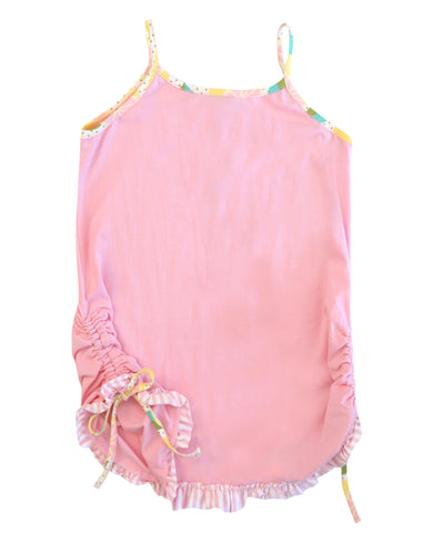 MATILDA JANE House of Cards Pink Tabby Tank Top 10 NEW WITH TAGS
