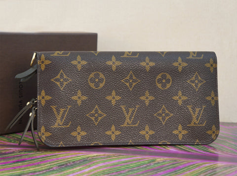 LOUIS VUITTON Insolite Monogram Canvas Clutch Wallet D Ring NEW IN BOX
