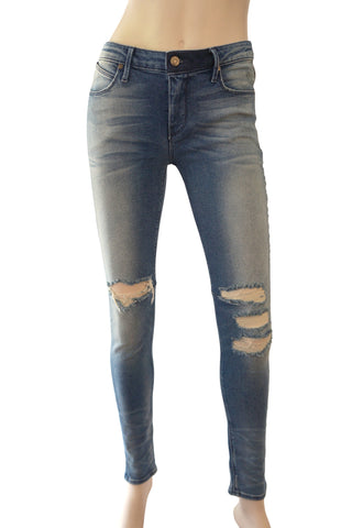 R+A ROAD TO AWE Distressed Skinny Jeans w/ Tags, Sz 26