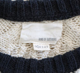 BAND of OUTSIDERS Cable Knit Sweater, Sz 1 / Small