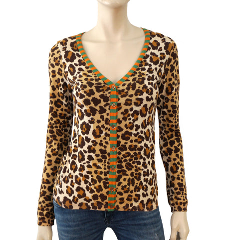 MOSCHINO CHEAP & CHIC Cotton Knit Cardigan, IT 40 / US 4-6