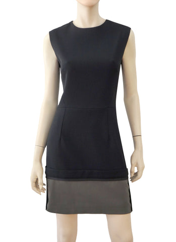 VICTORIA BECKHAM Wool Blend Sheath Dress, UK 12 / US 8