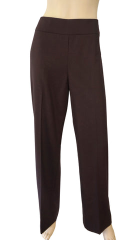 AKRIS Wool and Cashmere Blend Wide Leg Pants 44 US 10 12