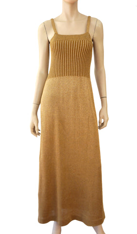 WENJILLI Vintage Knit Maxi Dress, Small
