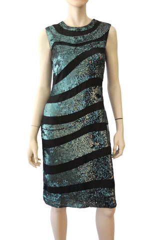 VERSACE Abstract Prink Cocktail Dress, IT 40 / US 4